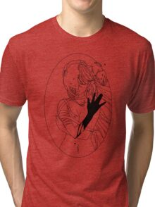 Elfen Lied - Black Tri-blend T-Shirt