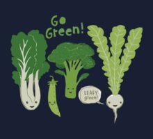 Go Green! (Leafy Green!) Kids Tee