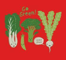 Go Green! (Leafy Green!) Baby Tee