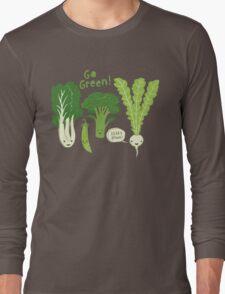 Go Green! (Leafy Green!) Long Sleeve T-Shirt