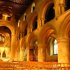 Norman Arches, Southwell Minster by wiggyofipswich