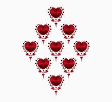 Diamond Hearts T-Shirt