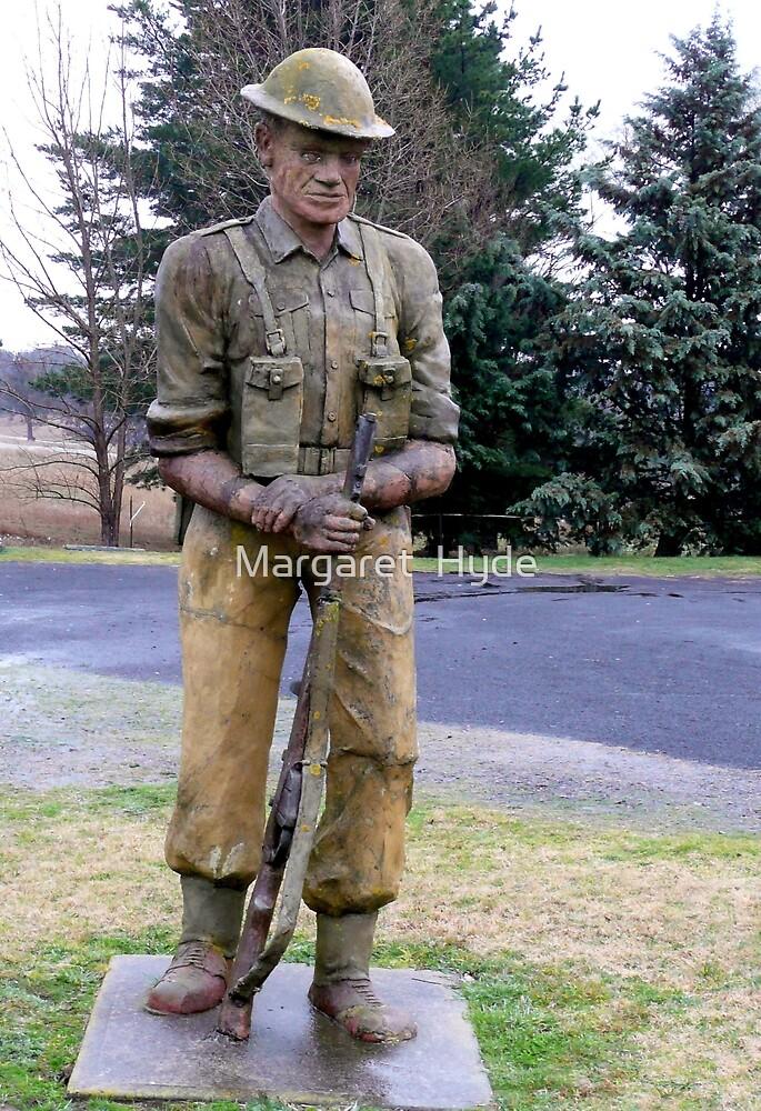 ANZAC memorial by Margaret  Hyde