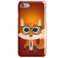 Fox Nerd (Cell Cases) iPhone Case/Skin