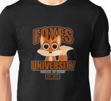 Foxes University  2 Unisex T-Shirt