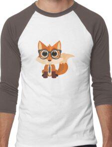 Fox Nerd Men's Baseball ¾ T-Shirt