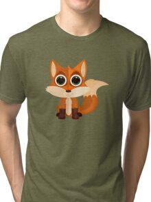Fox (2) Tri-blend T-Shirt