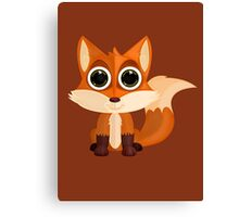 Fox (2) Canvas Print