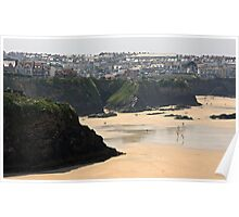 Newquay - Cornwall UK Poster