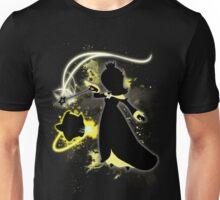 Super Smash Bros. Black/Yellow Rosalina Silhouette Unisex T-Shirt