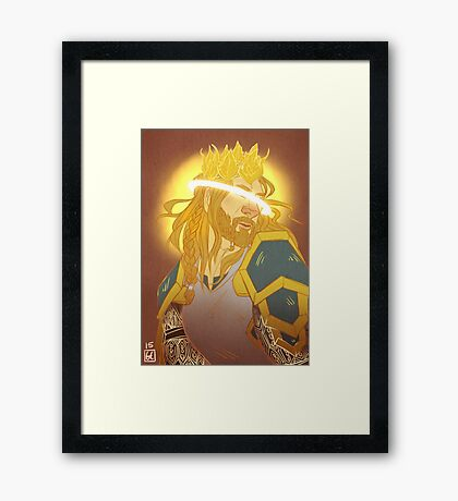 THE HOBBIT - The FALLen Prince Framed Print
