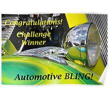 Automotive BLING Challenge Winner Banner Poster