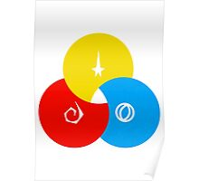 Star Trek - Starfleet Venn Diagram Design Poster