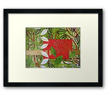 Autumn Patchwork Series Nr. 1 Framed Print