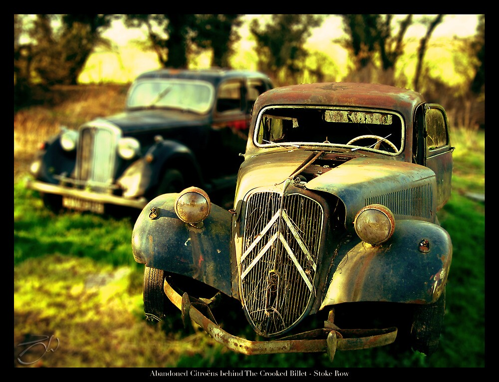Abandoned Citroen Cars by newshamwest