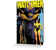 Watchmen  Greeting Card