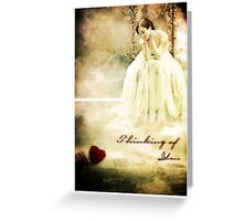 Thinking of You - Valentine's Card Greeting Card