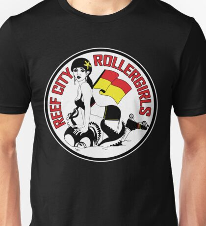 Reef City Roller Girls T-Shirts & Hoodies Unisex T-Shirt