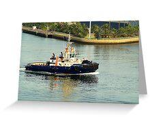 Svitzer Maitland Tug - Newcastle Harbour NSW Australia Greeting Card