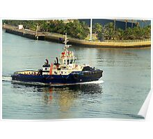 Svitzer Maitland Tug - Newcastle Harbour NSW Australia Poster