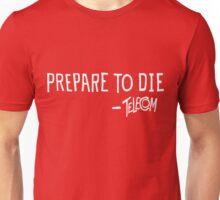Telecom Prepare To Die Text White. T-Shirt