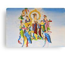 Gods Canvas Print