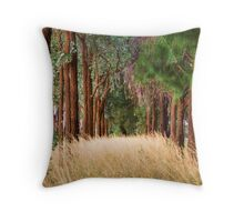 Parkes Forest NSW Throw Pillow