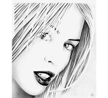 Kylie Minogue Portrait no.2 Photographic Print