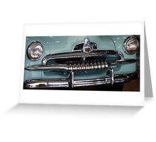 FJ Holden Front View Greeting Card