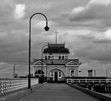 The St. Kilda Pier Kiosk by skyebelle