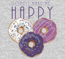Donuts Make Me Happy Kids Clothes