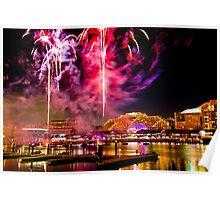 NYE: Fireworks Firestorm Poster