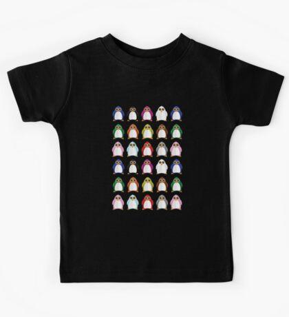 Penguin Variety (2) Kids Tee