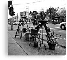 St. Kilda streetscape Canvas Print