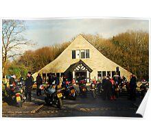 RIVVI BARN bikers meet[for caz] Poster