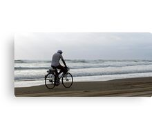 Baylys Beach bikey Canvas Print