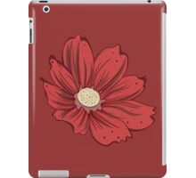 Reddish Flower iPad Case/Skin