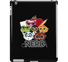 Nerd 3 - Black iPad Case/Skin