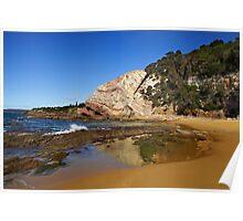 Aslings Beach at Eden Poster