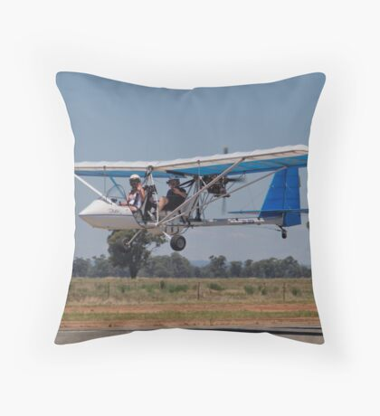 Drifting to the Ground Throw Pillow