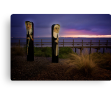 Dawn Service Canvas Print