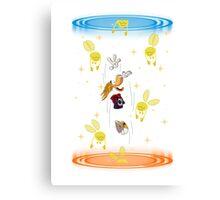 Rayman Portal Canvas Print