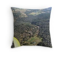 Beechworth Gorge Looking North Throw Pillow