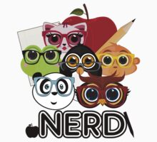 Nerd 3 Kids Clothes