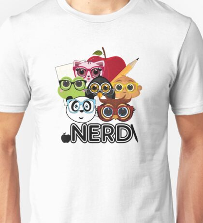 Nerd 3 Unisex T-Shirt