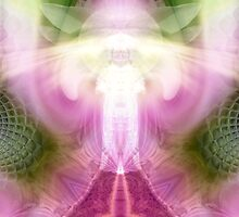 Feminine Heart by Craig Hitchens - Spiritual Digital Art