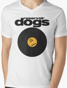 Reservoir Dogs Minimal Mens V-Neck T-Shirt