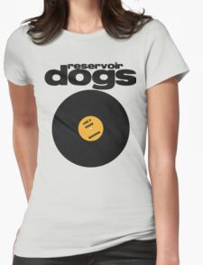 Reservoir Dogs Minimal Womens Fitted T-Shirt