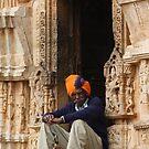 Tower Guard, Chittorgarh, Rajasthan, India by RIYAZ POCKETWALA