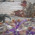 Elephant on Steep Road by BasantSoni